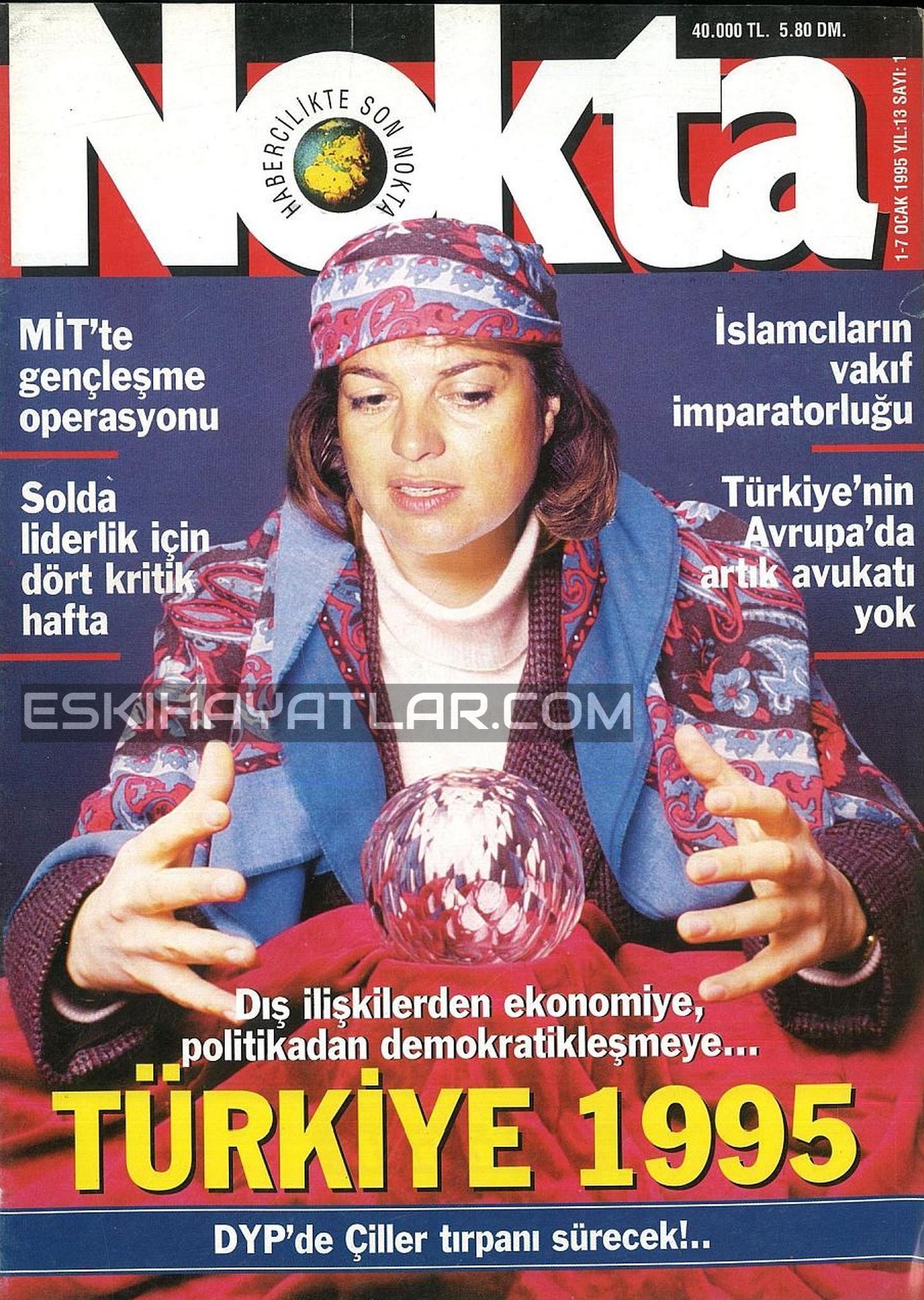 1995 yılı Tempo Dergisi arşivleri