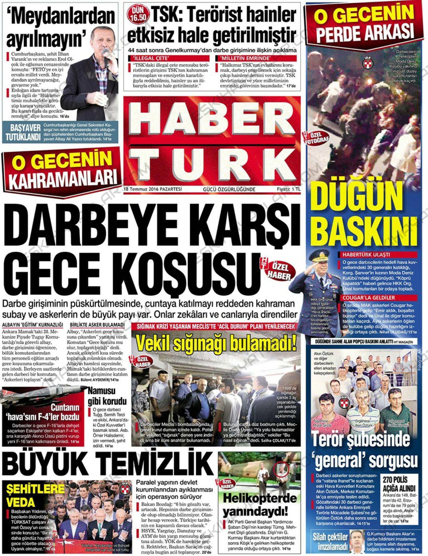 15-temmuz-2016-darbe-tesebbusu-gazete-arsivleri (haberturk)