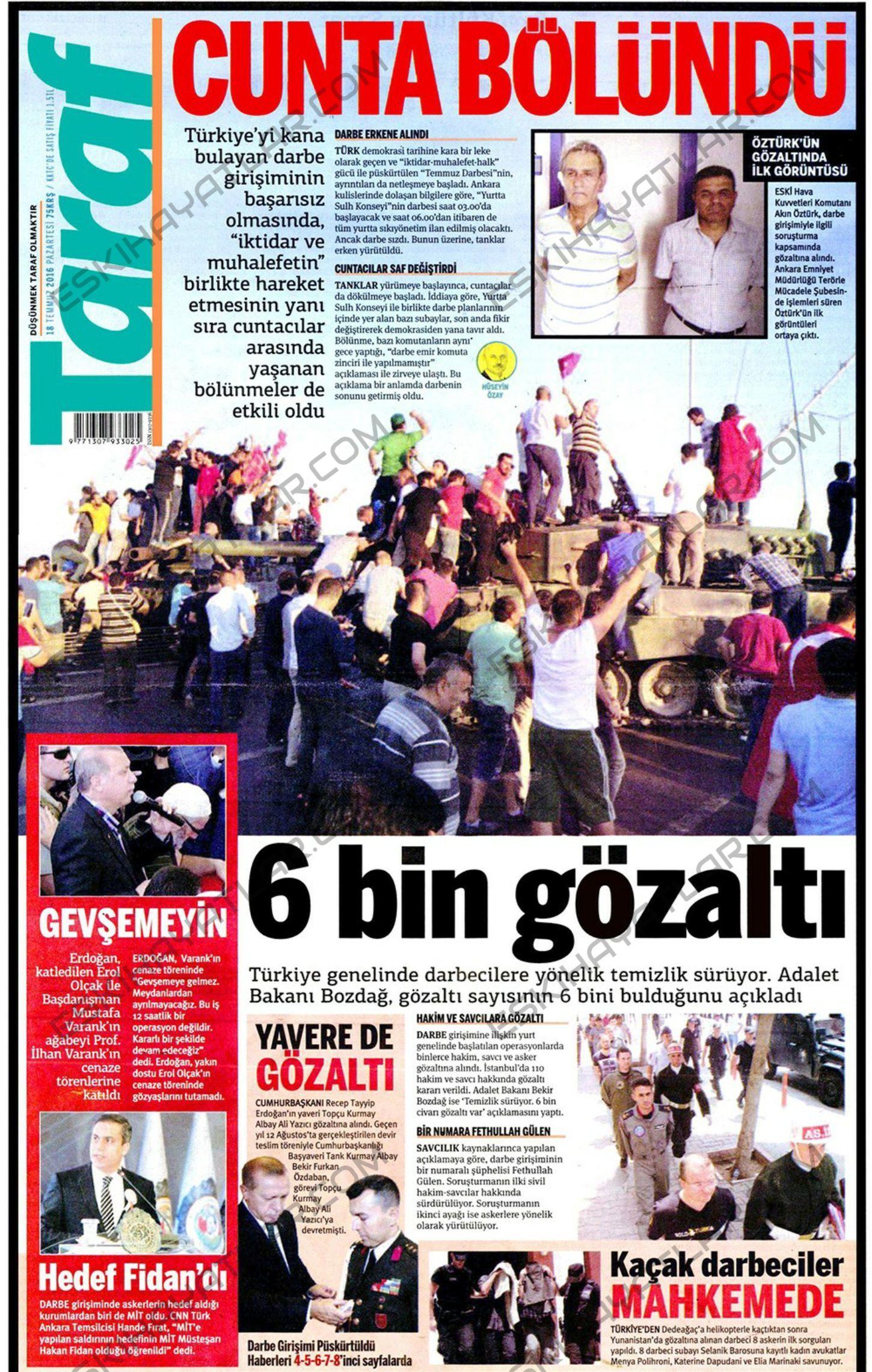 15-temmuz-2016-darbe-tesebbusu-gazete-arsivleri (taraf)