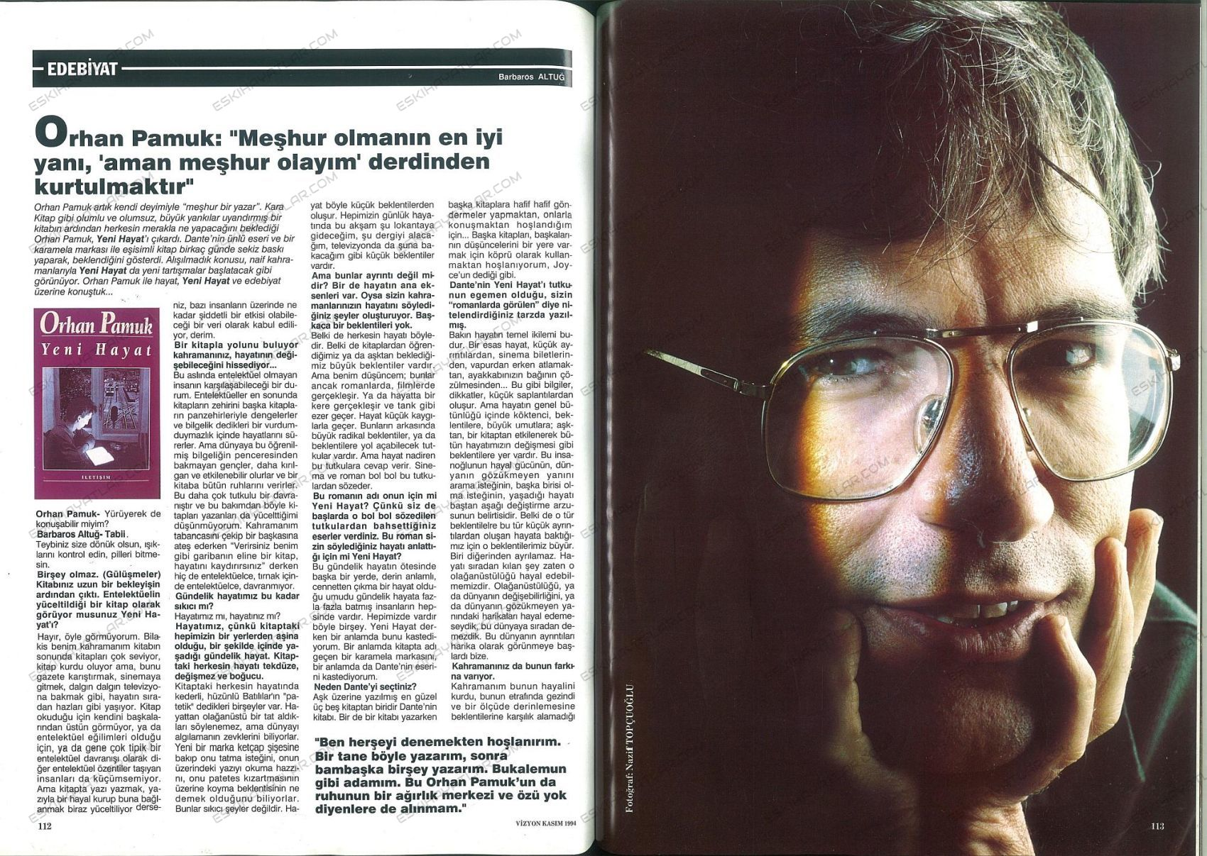 0211-orhan-pamuk-yeni-hayat-ilk-baskisi-1994-vizyon-dergisi (6)