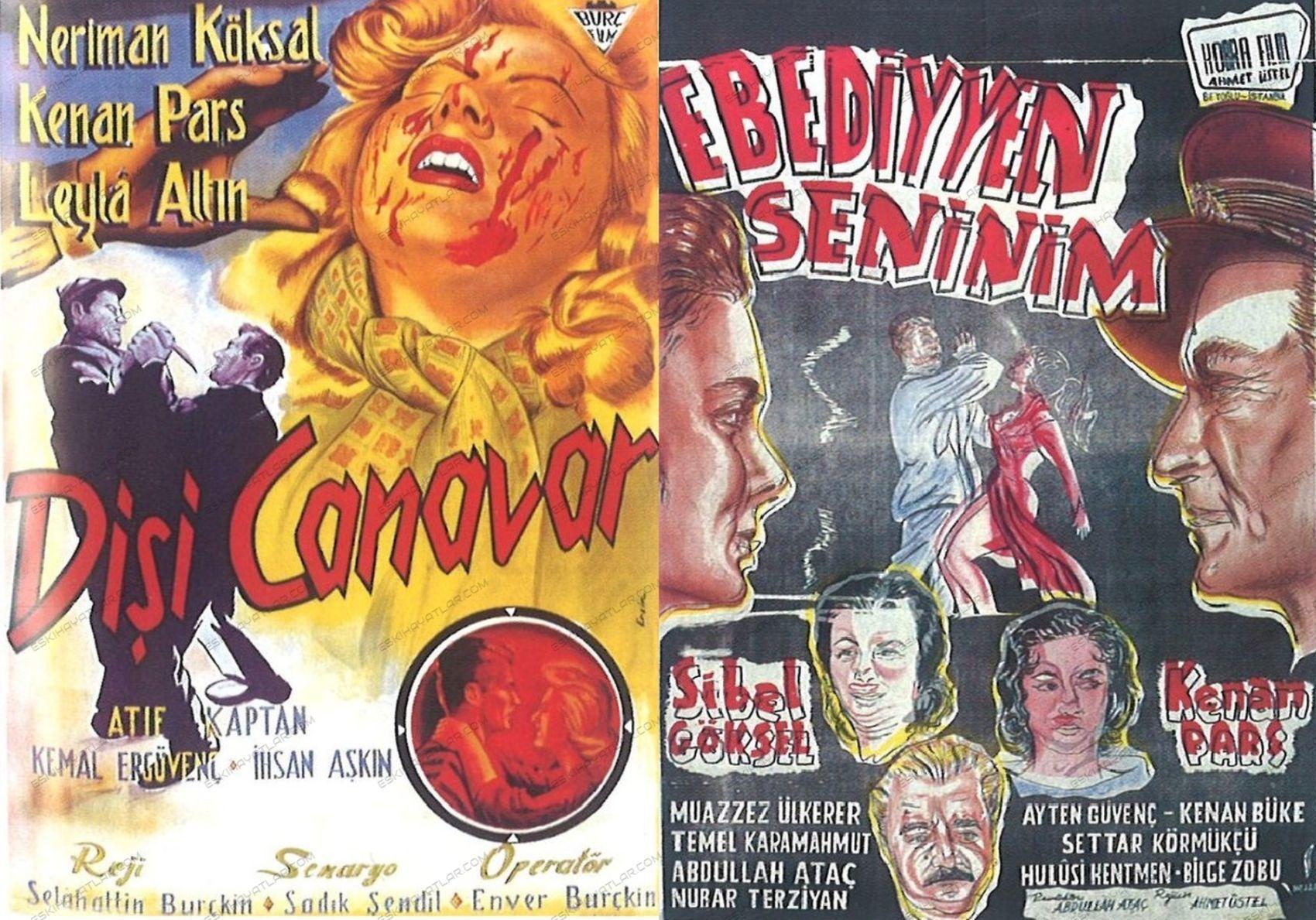 0171-kenan-pars-kimdir-kirkor-cezveciyan-film-afisleri-disi-canavar-1957-ebediyyen-seninim