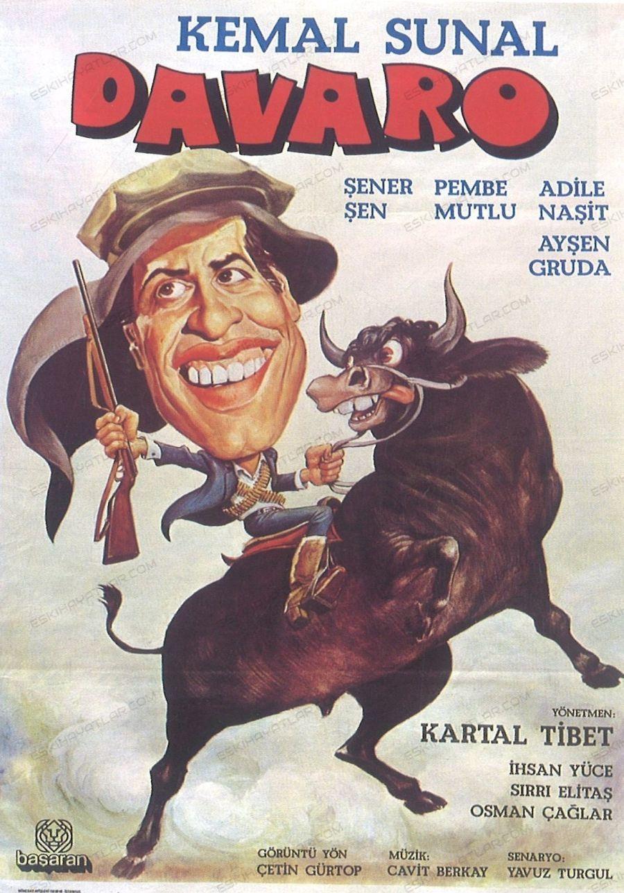 0120-kemal-sunal-1981-davaro-film-afisi-sener-sen-pembe-mutlu-adile-nasit-aysen-gruda-kartal-tibet