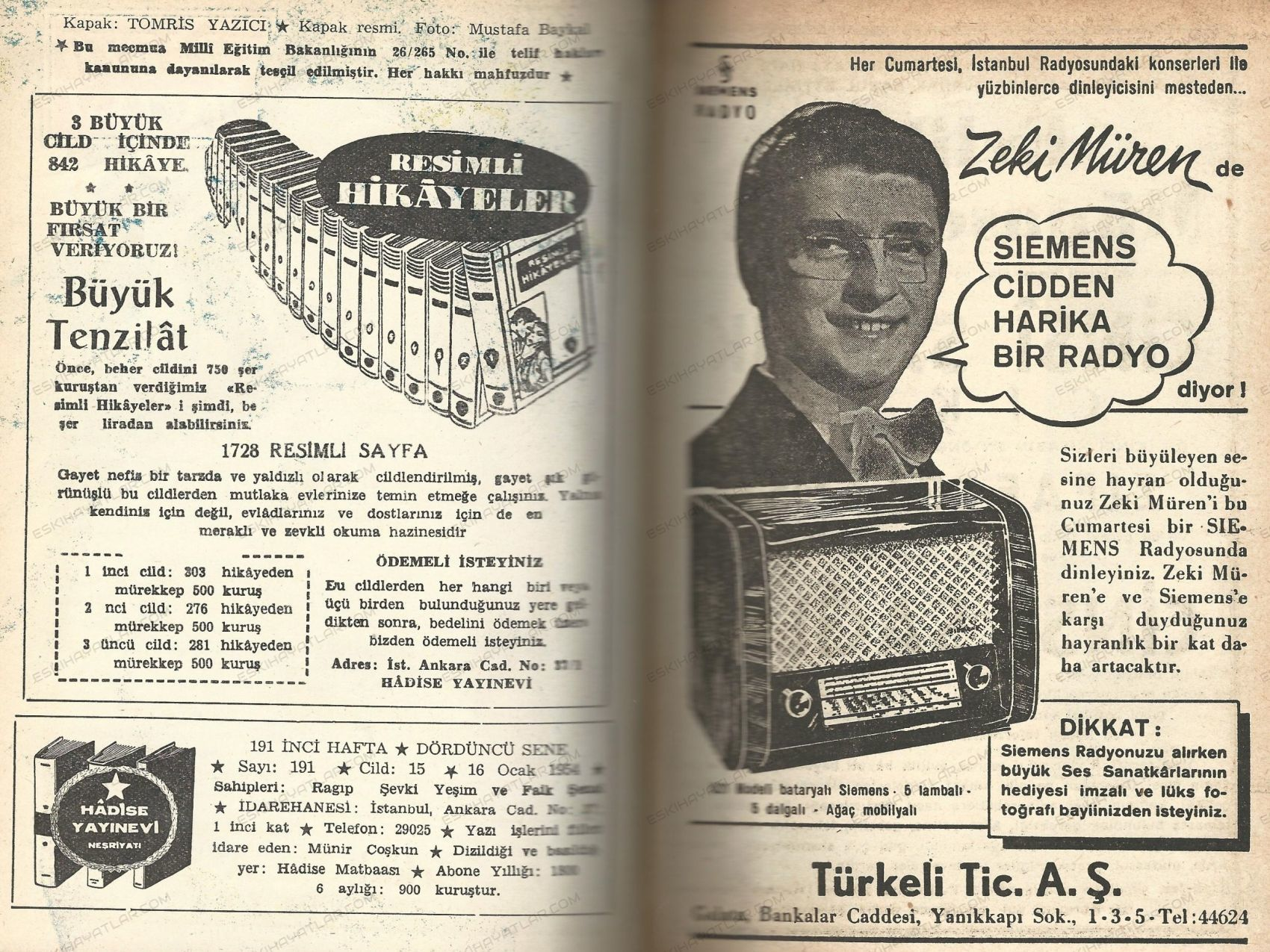 0153-radyo-magazin-dergisi-radyo-haftasi-dergisi-radyonun-sesi-dergisi-zeki-muren-siemens-radyo-reklami-turkeli-ticaret