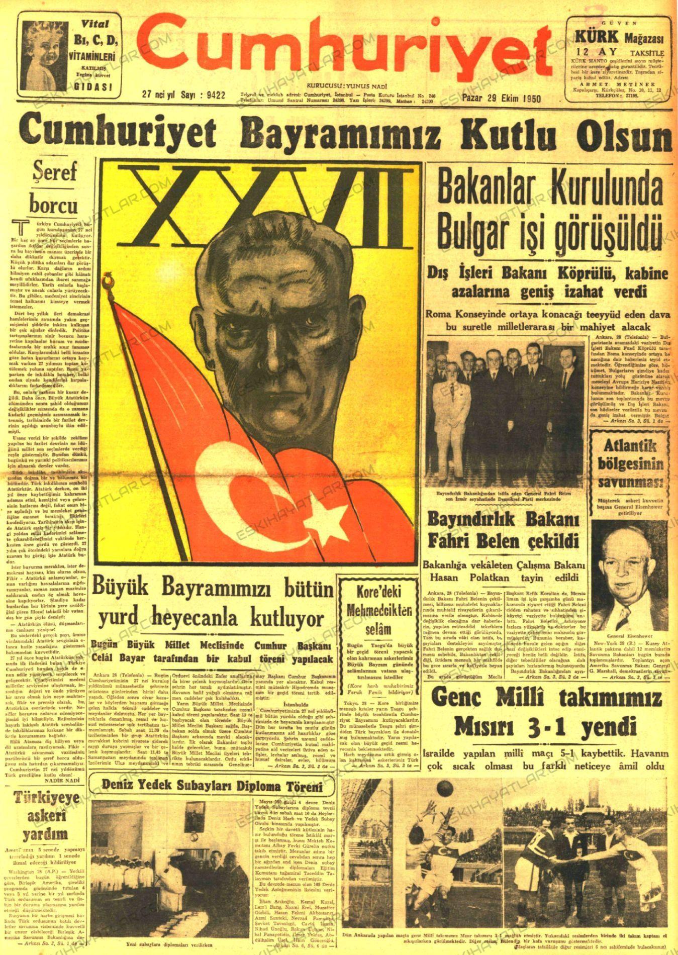 0423-cumhuriyet-bayrami-gazete-arsivi-1950