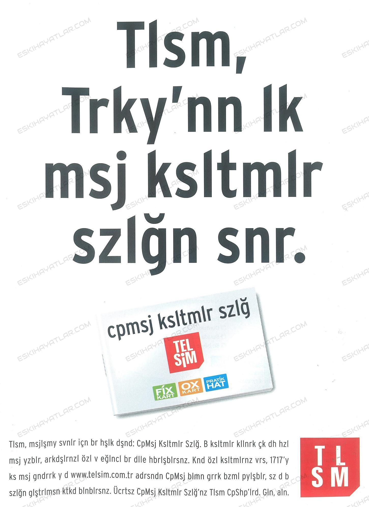 0135-telsim-reklami-2001-cep-kisaltmalari-sozlugu