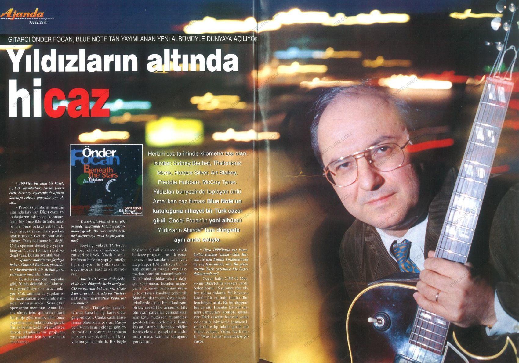 0139-onder-focan-albumleri-yildizlarin-altinda-hicaz-1998-erken-albumu-jazz-guitar-albumu-aktuel-dergisi (1)