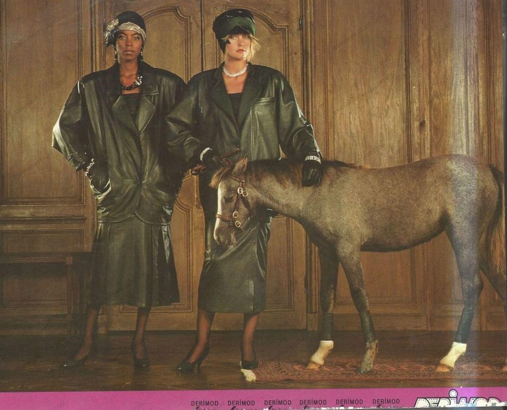 0342-derimod-at-ve-iki-kadin-reklam-1985-umit-zaim