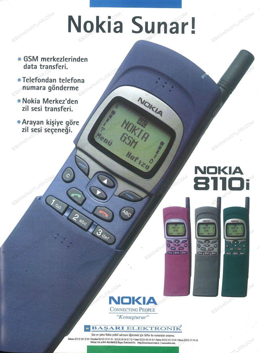 0363-nokia-8110i-reklami-1997-nokia-connecting-people-konusturur