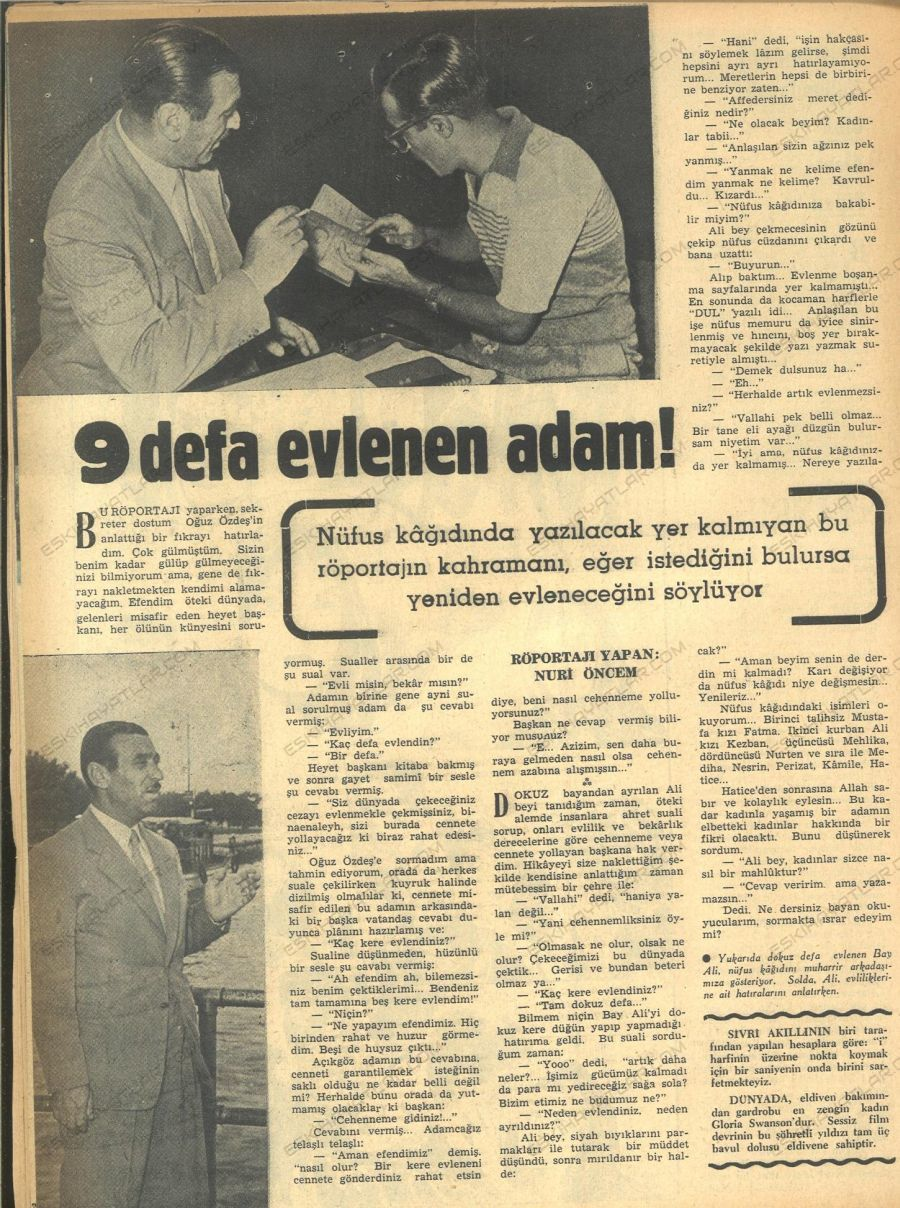 0218-dokuz-defa-evlenen-adam-1954-hafta-dergisi