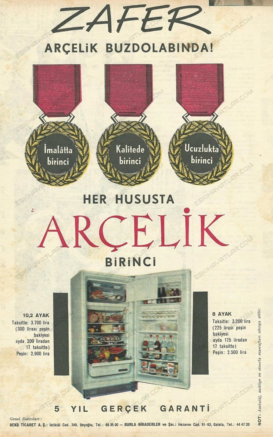 0335-zafer-arcelik-buzdolaplarinda-1964-yilinda-arcelik-reklamlari