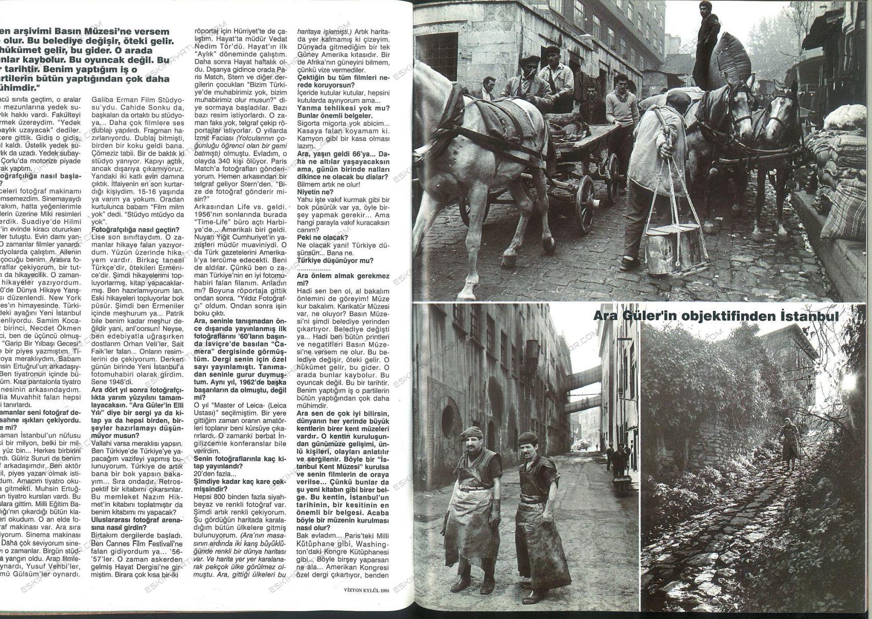 0364-ara-guler-1994-vizyon-dergisi-eski-istanbul-anilari-roportaj (2)