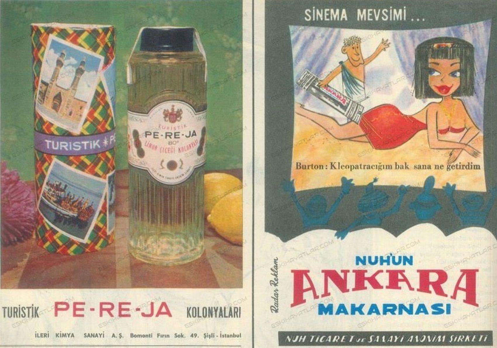 0344-pereja-kolonyalari-1965-yilinda-kolonya-markalari-nurun-ankara-makarnasi-altmislarda-makarna-reklamlari