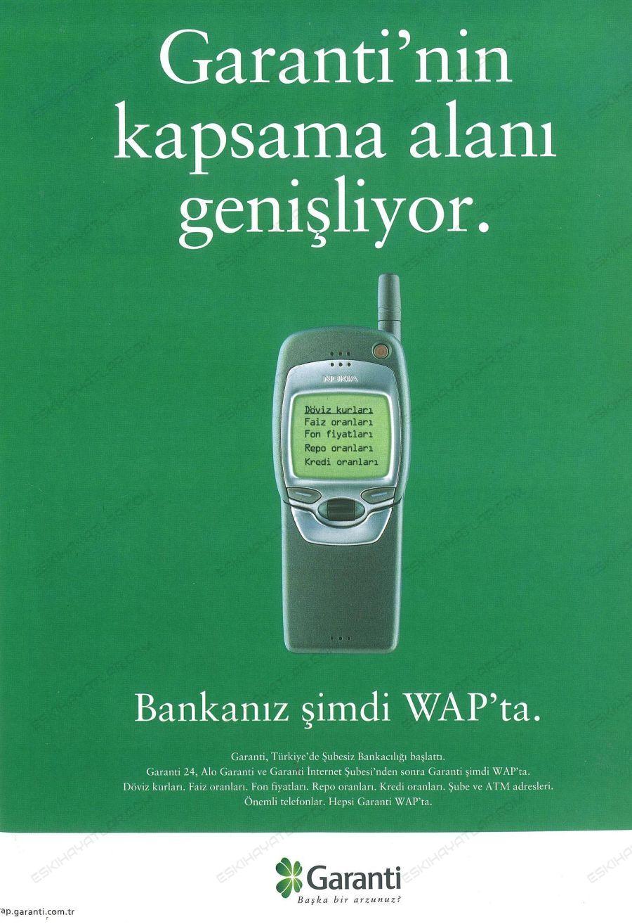 0384-garanti-bankasi-2000-yili-reklamlari-wap-ile-bankacilik-islemleri-nokia-7110-reklami