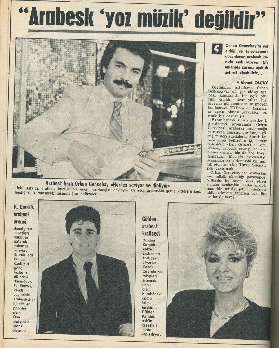 0063-arabesk-trt-yasaklari-orhan-gencebay-gencligi-kucuk-emrah-posteri-arabesk-kralicesi-gulden-karabocek-1989-ses-dergisi
