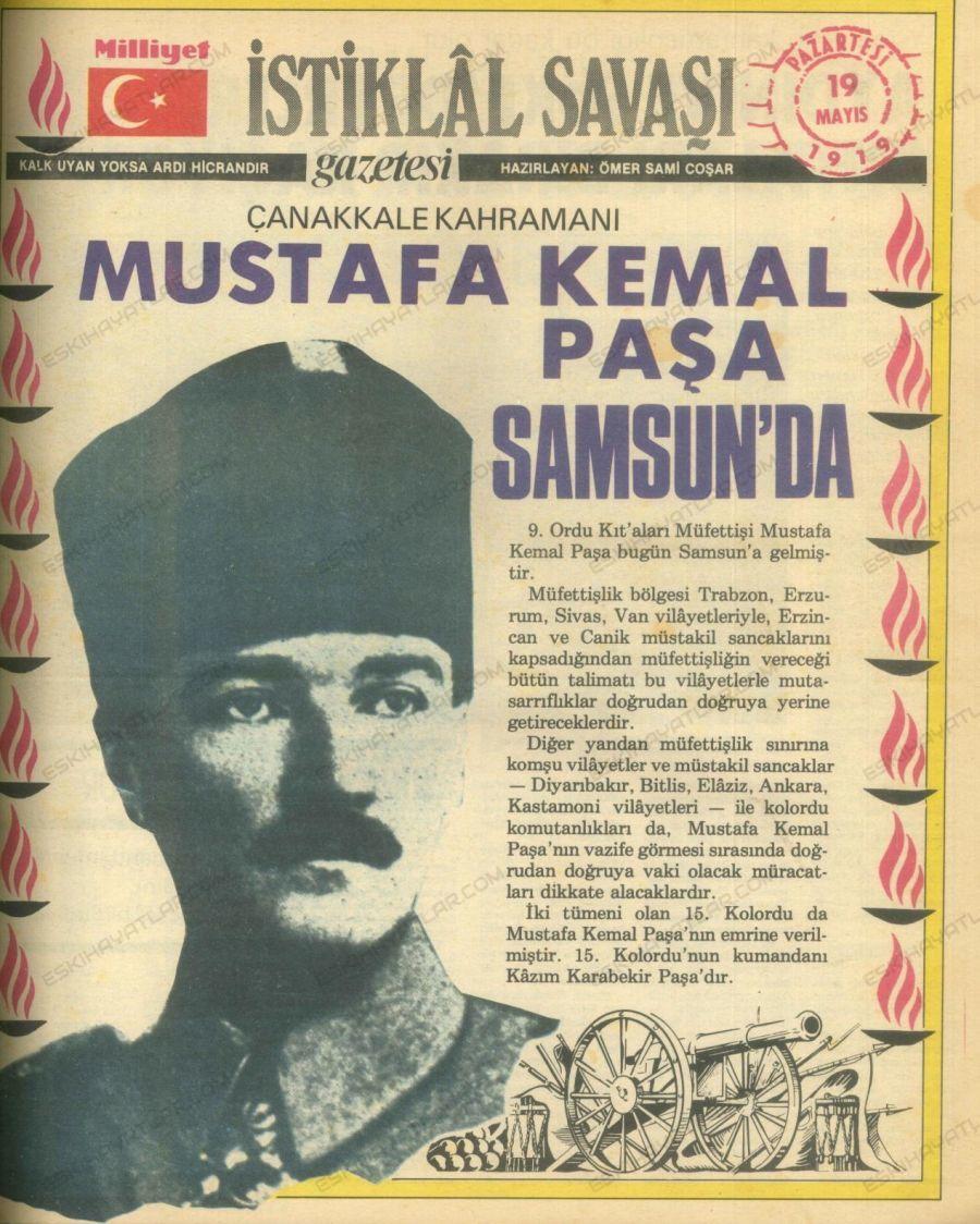 0222-519-mustafa-kemal-pasa-samsun-da-istiklal-savasi-gazetesi-1919-arsivleri