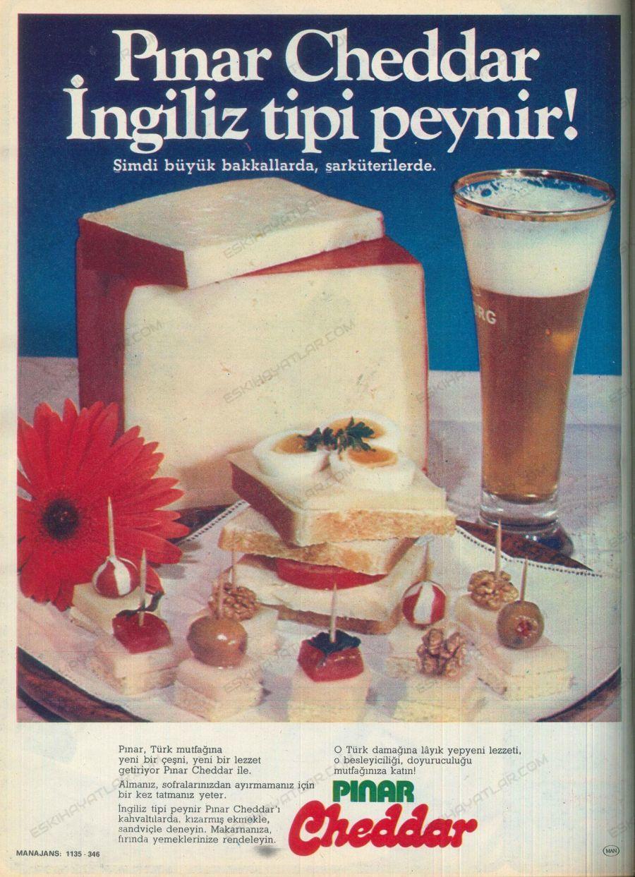 0777-yasar-holding-reklamlari-pinar-cheddar-ingiliz-tipi-peynir-tuborg-reklami-1976-yilinda-sut-urunleri-eli-aciman-reklam-arsivi-manajans
