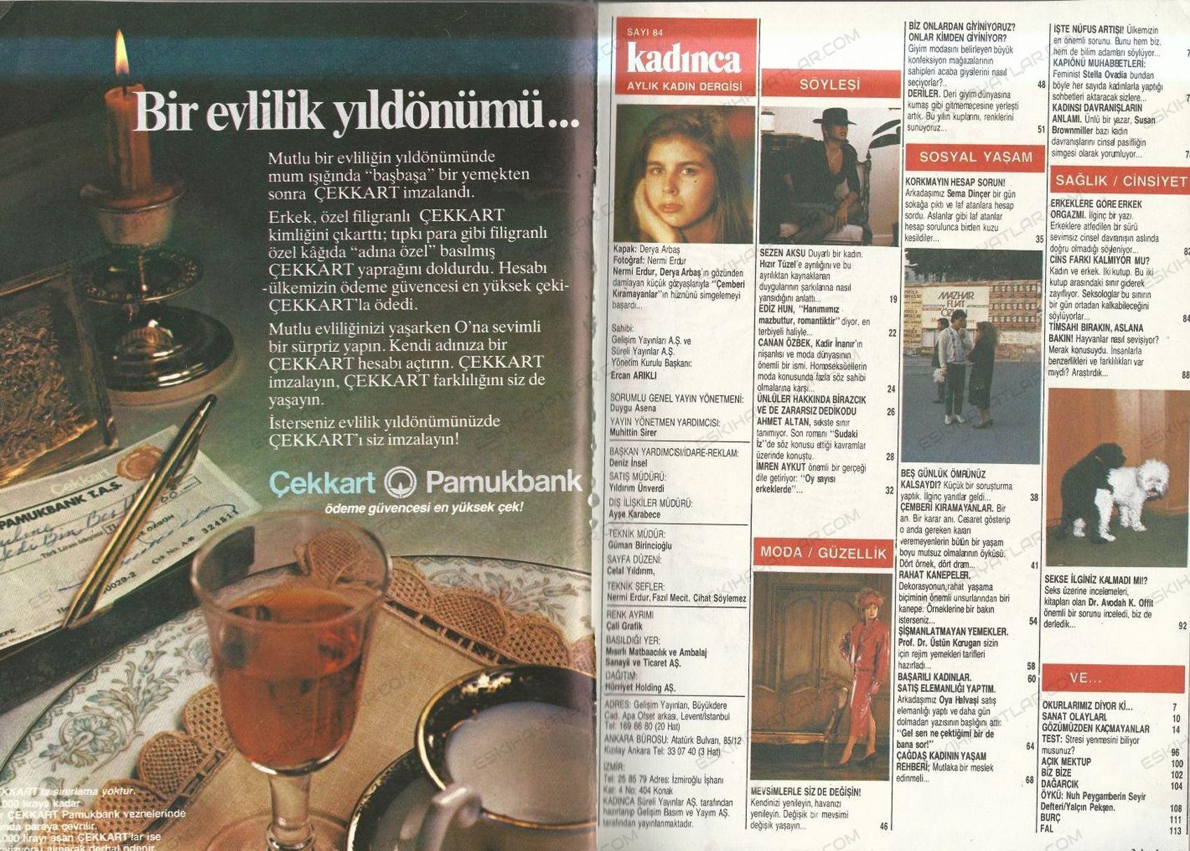 0418-bir-evlilik-yildonumu-cek-kart-pamukbank-reklami-1985-yili-kadinca-dergisi
